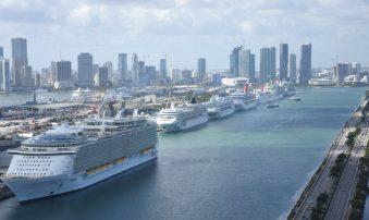 Puerto de Miami supera su cantidad de pasajeros batiendo records