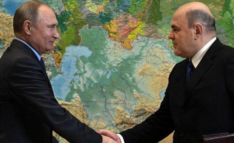 Putin designa Mijaíl Mishustin como primer ministro