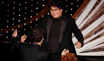 La película surcoreana Parasite se alzó con cuatro premios Oscar