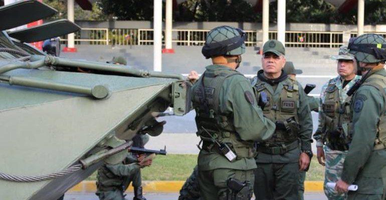 ¿Miedo? Régimen de Nicolás Maduro inició ejercicios militares en toda Venezuela