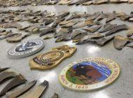 Encuentran contrabando de 1400 aletas de tiburón en el Puerto de Miami