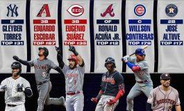 Seis venezolanos entre los mejores 100 jugadores de Las Mayores