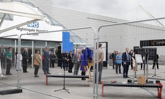 Abren un hospital de campaña con 4.000 camas en Londres