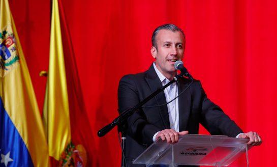 Tareck El Aissami anuncio haberse recuperado completamente del covid-19