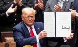 Trump firma orden para reformar a la policía