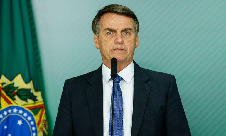"""Bolsonaro confirmó que se encuentra """"bien de salud"""""""