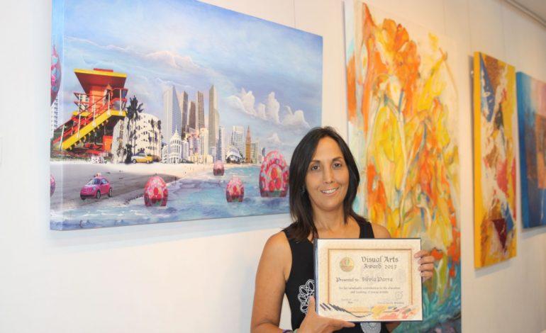 En un live Stream es premiada La Artista Silvia Parra por su Arte innovador
