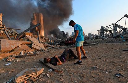 Al menos 137 son los muertos y unos 5.000 los heridos por las explosiones en Beirut