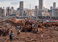 Unas 2 mil 750 toneladas de nitrato de amonio causaron explosiones en Beirut