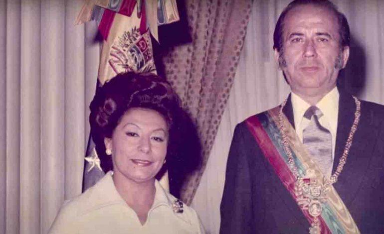 Murió exprimera dama Blanca Rodríguez de Pérez