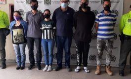 Capturaron en Medellín a seis integrantes del Cartel de los Soles