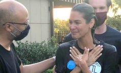 Venezolana Dayana Mendoza se bautiza como cristiana