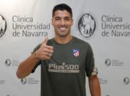Luis Suárez firmó su contrato con el Atlético por dos temporadas