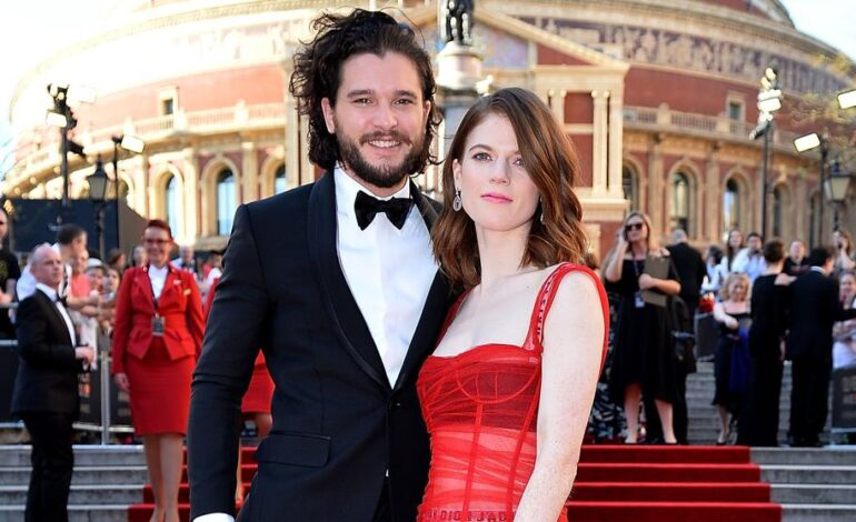 Kit Harrington y Rose Leslie esperan un bebé