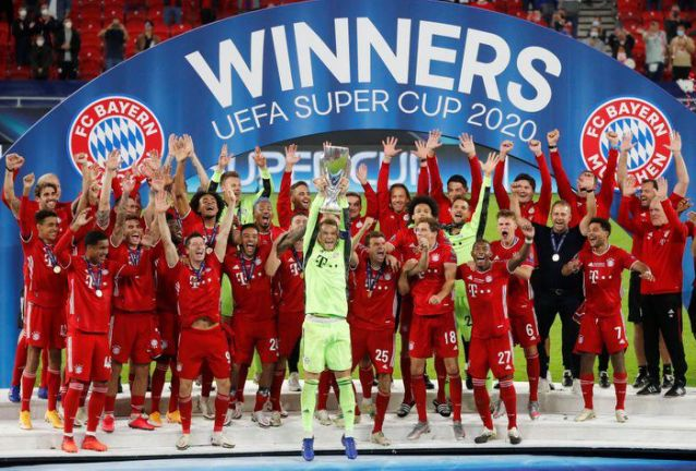 El Bayern vence 2-1 al Sevilla y gana la Supercopa europea