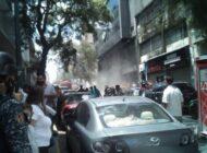 Sede del Ministerio Público en Caracas se incendia