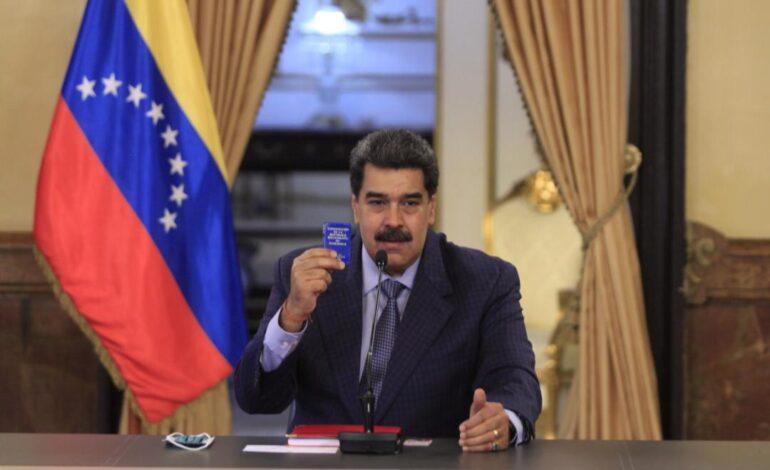 Maduro crea Consejo Militar, Científico y Tecnológico