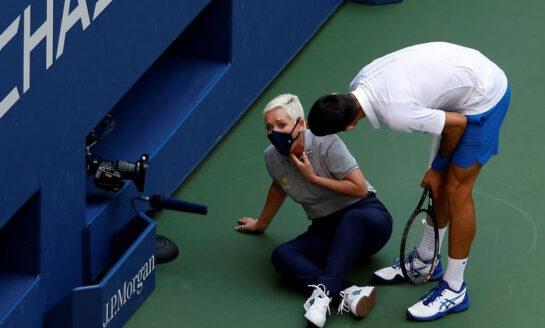 Novak Djokovic sobre su descalificación: Estuve en shock durante dos días