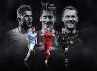 De Bruyne, Lewandowski y Neuer optan a premio al Jugador del Año de la Uefa