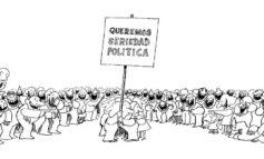 No es serio en política decir una cosa y hacer otra Por Ángel Monagas