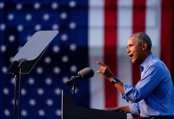 Obama reaparece para atacar a Trump y pide el voto para Biden