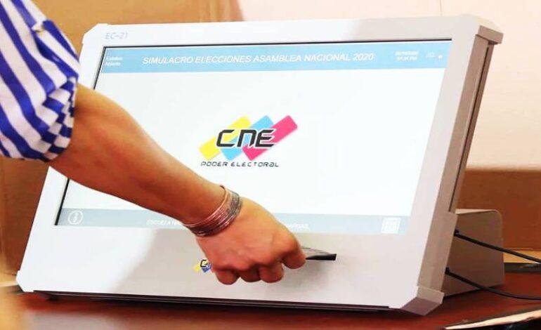 Régimen madurista realiza simulacro electoral en Venezuela