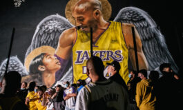 Los Lakers homenajean a Kobe en sus festejos del título NBA