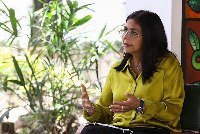 Delcy Rodríguez: En Venezuela está descartada la desaparición del bolívar