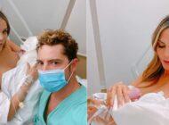 David Bisbal y la venezolana  Rosanna Zanetti tuvieron a su segunda hija