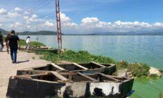 Comisión de Ambiente de la AN visitó el Lago de Valencia para alertar sobre la contaminación y crecida de las aguas