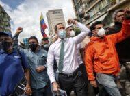Guaidó no se irá de Venezuela y seguirá buscando sanciones contra el régimen