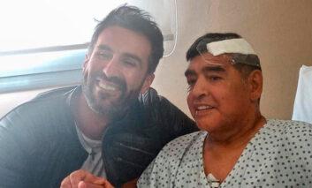 Fiscales allanan propiedades del médico de Maradona